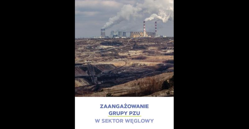 Zaangażowanie Grupy PZU w sektor węglowy